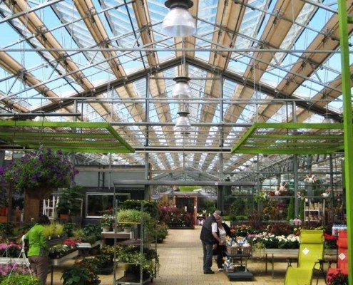 Roof roller screen Gartencenter Meier Duernten