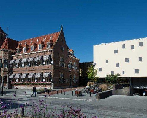 Buitenzijde gemeentehuis Zeist