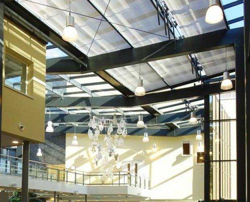 Overzicht atrium Gemeentehuis Zeist