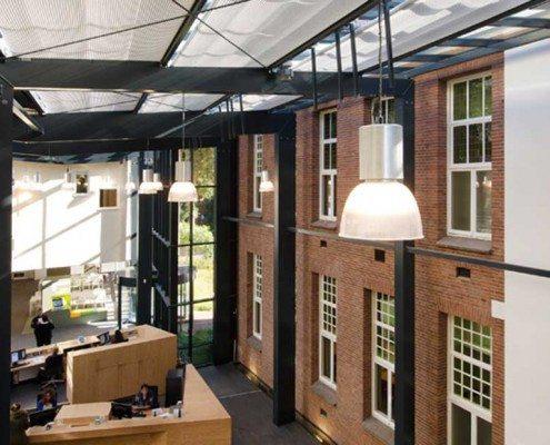 Overzicht ontvangstruimte gemeentehuis Zeist