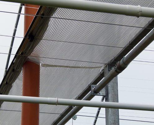 Brede energiestrook ivm plaatsing afvoer